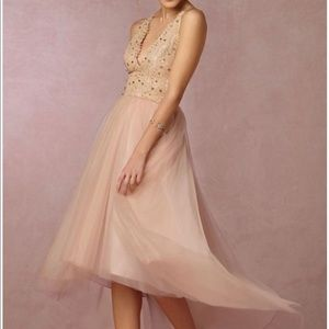 NWOT BHLDN James Coviello tulle lace prom dress